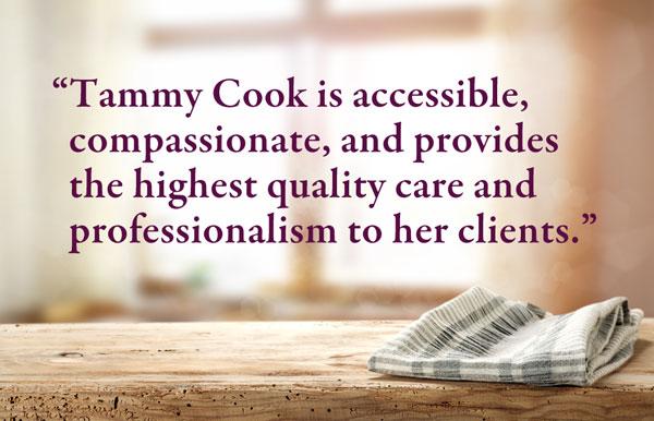 Dietitian - testimonial - Tammy Cook