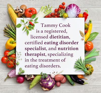 Contact Tammy Cook - Dietitian, eating disorder specialist, nutrition therapist